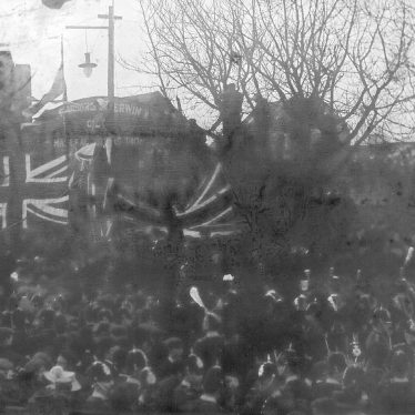 Nuneaton.  General Buller unveiling Boer War Memorial