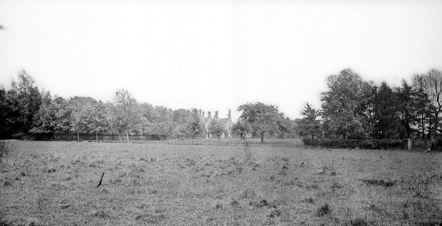 Country house and park, Camp Hill.  1900s |  IMAGE LOCATION: (Warwickshire County Record Office)