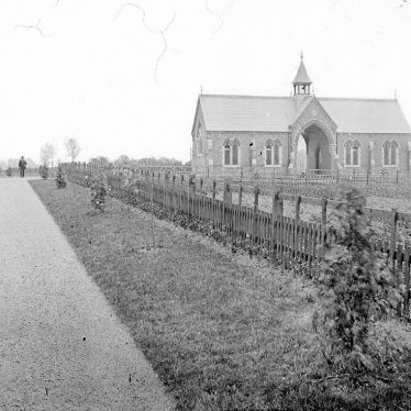 Nuneaton.  Cemetery and chapel