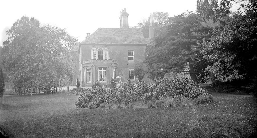 Coton Hall and its residents.  1900s |  IMAGE LOCATION: (Warwickshire County Record Office)