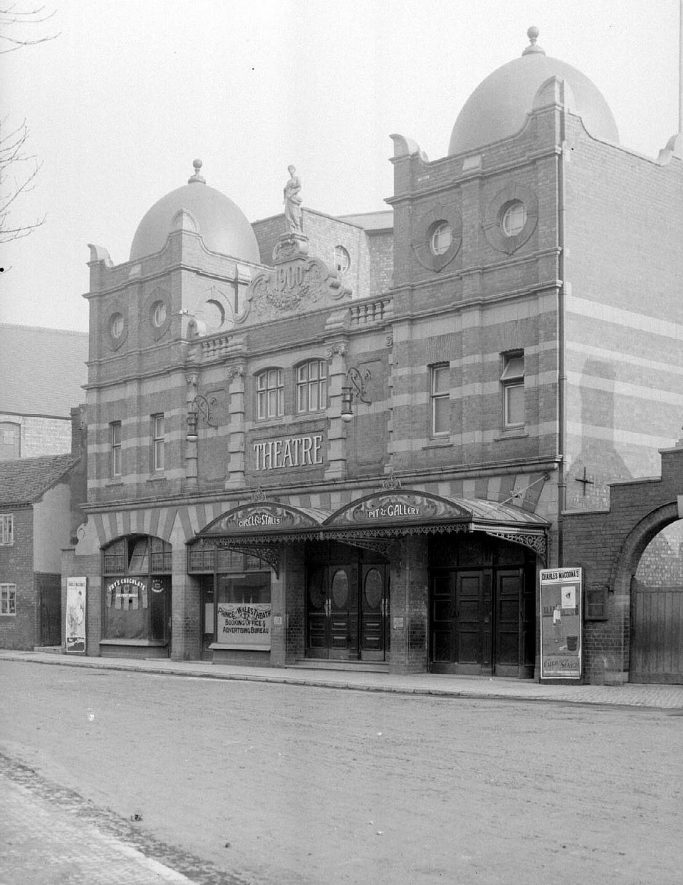 Hippodrome Theatre, Bond Street, Nuneaton.  1900s |  IMAGE LOCATION: (Warwickshire County Record Office)