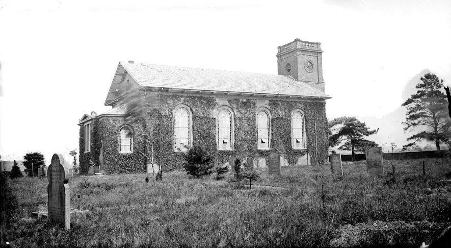 Stockingford Church.  1900s |  IMAGE LOCATION: (Warwickshire County Record Office)