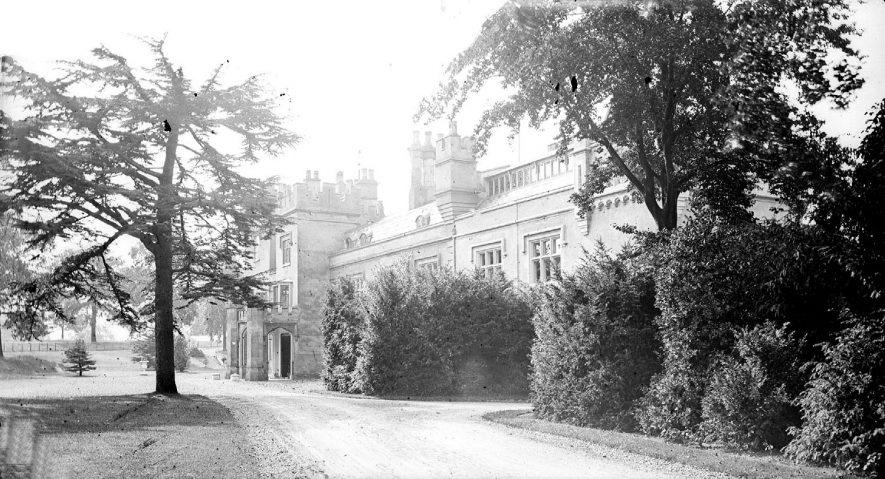 Weddington Castle.  1900s |  IMAGE LOCATION: (Warwickshire County Record Office)