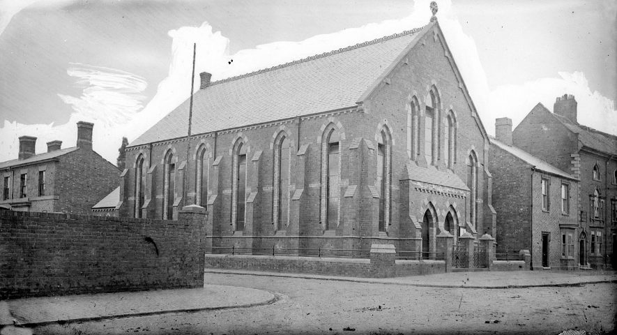 Methodist Church, Abbey Street, Nuneaton.  1870's