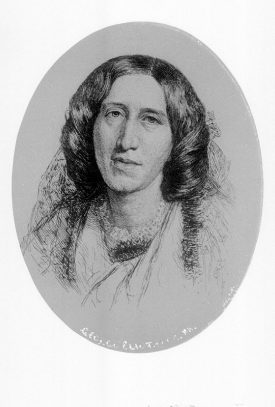 Portrait of George Eliot.  1900s |  IMAGE LOCATION: (Warwickshire Museum Sites and Monuments Record) PEOPLE IN PHOTO: Eliot, George, Eliot as a surname