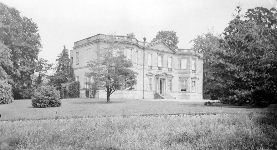 Foxcote Hall, Ilmington.  1900s |  IMAGE LOCATION: (Warwickshire County Record Office)
