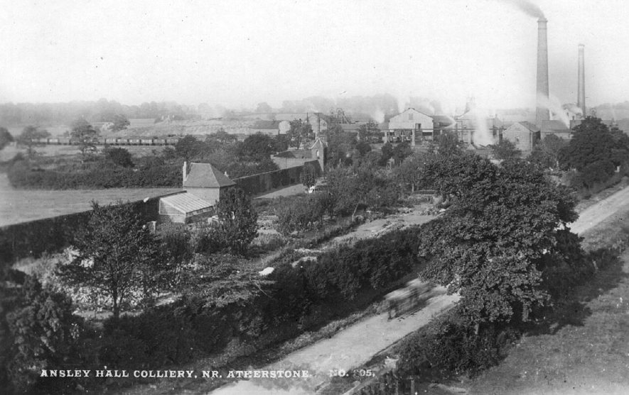 General view of Ansley Hall Colliery.  1900s    IMAGE LOCATION: (Warwickshire County Record Office)