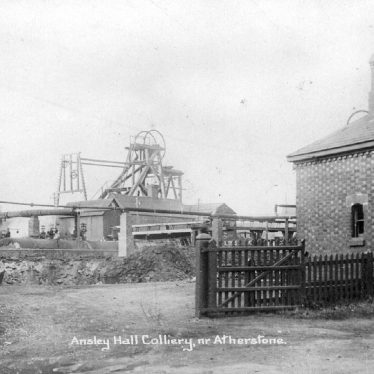 Ansley.  Ansley Hall Colliery