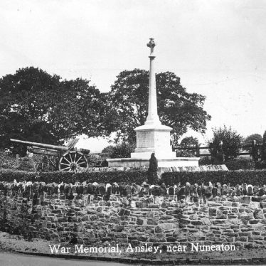 Ansley.  War Memorial
