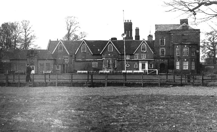 Exterior of Ansley Hall.  1970    IMAGE LOCATION: (Warwickshire County Record Office)