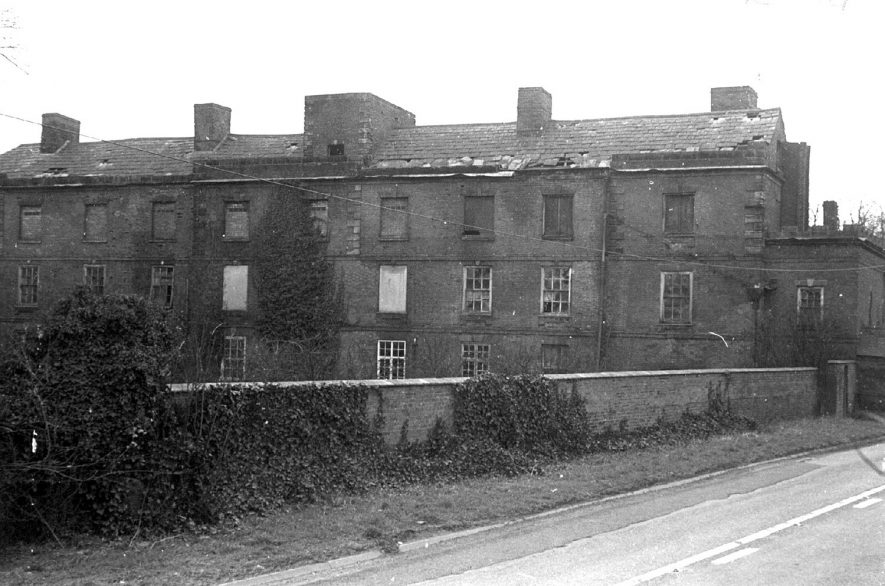 Exterior of part of Ansley Hall.  1970 |  IMAGE LOCATION: (Warwickshire County Record Office)