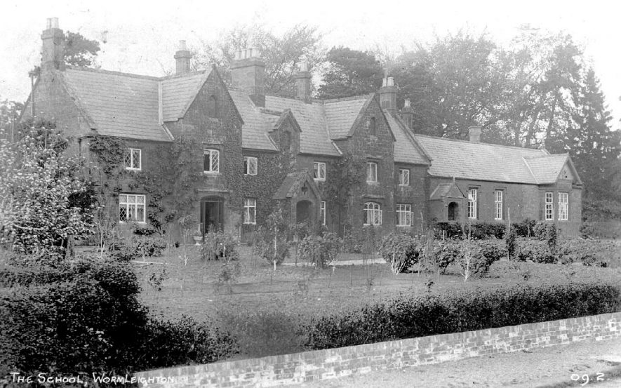 A view of the School at Wormleighton.  1900s |  IMAGE LOCATION: (Warwickshire County Record Office)