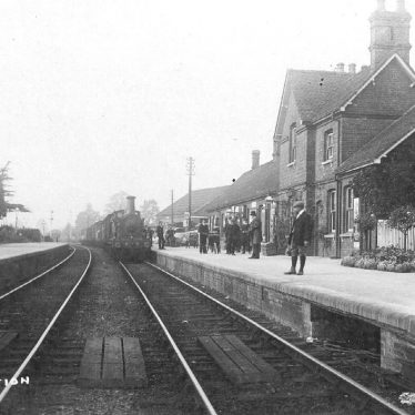 Alcester.  Railway Station