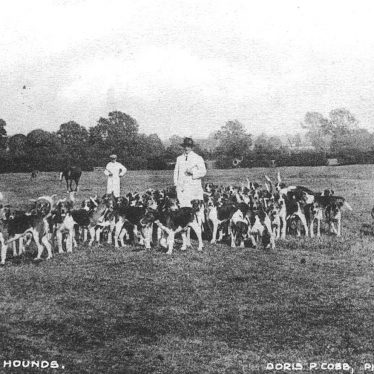 Atherstone.  Hounds