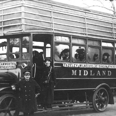 Atherstone.  Midland Motor Bus
