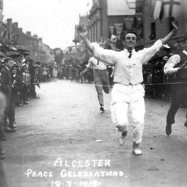 Alcester.  Peace celebrations