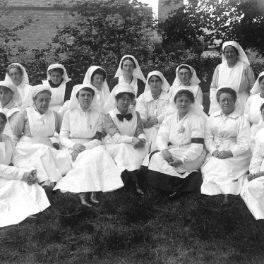 Atherstone.  Group of nurses