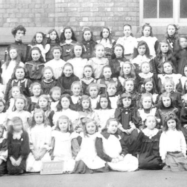 Atherstone.  School group