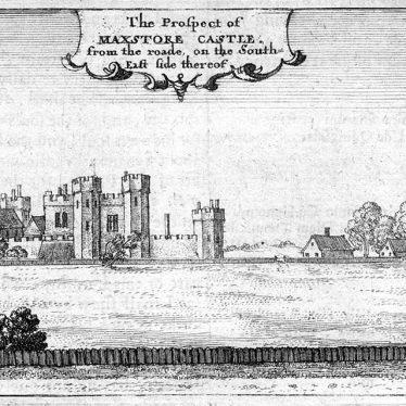 Maxstoke Castle.
