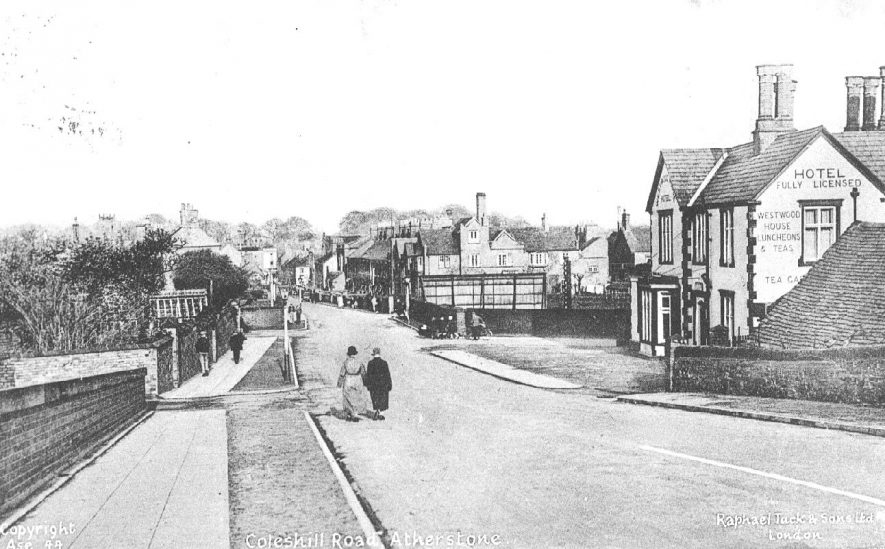 Coleshill Road, Atherstone.  1920s |  IMAGE LOCATION: (Warwickshire County Record Office)
