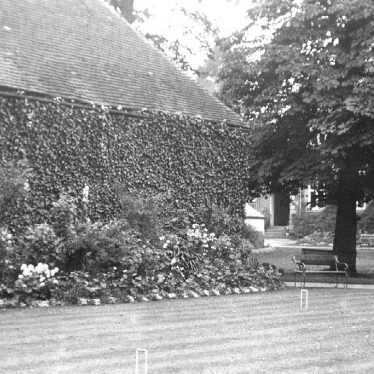 Atherstone.  Croquet Lawn