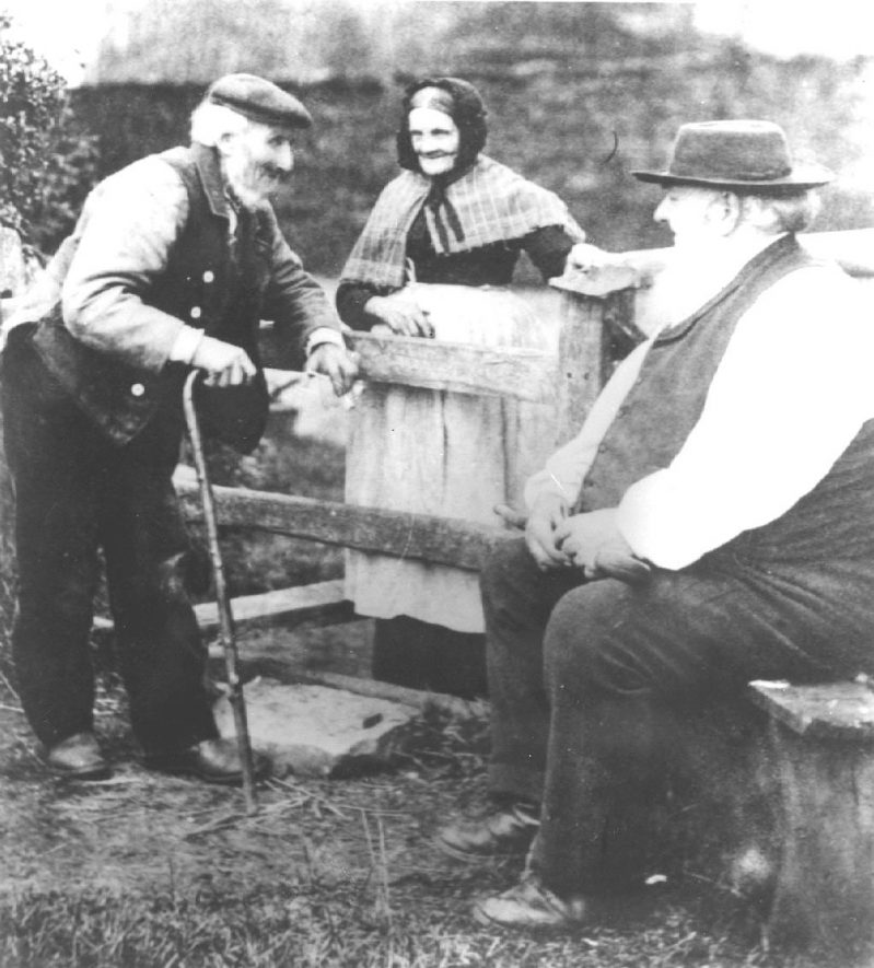 Astley sub- postmasters in the late 19th century. |  IMAGE LOCATION: (Warwickshire County Record Office)