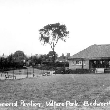 Bedworth.  Johnson Memorial Pavilion