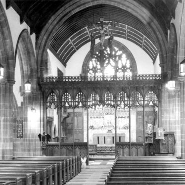 Bedworth.  Church interior