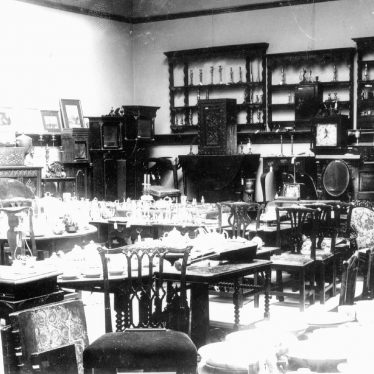 Bedworth.  Collection of antiques