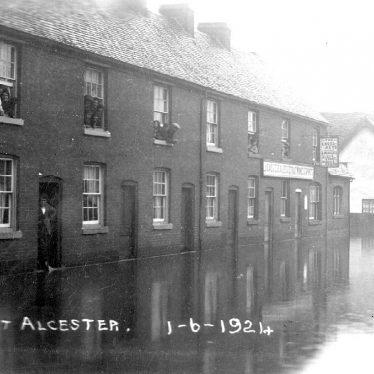 Alcester.  Flood