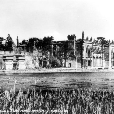Arbury Hall.  1950s |  IMAGE LOCATION: (Warwickshire County Record Office)