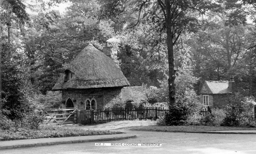 The beehive cottage, Atherstone.  1950s    IMAGE LOCATION: (Warwickshire County Record Office)