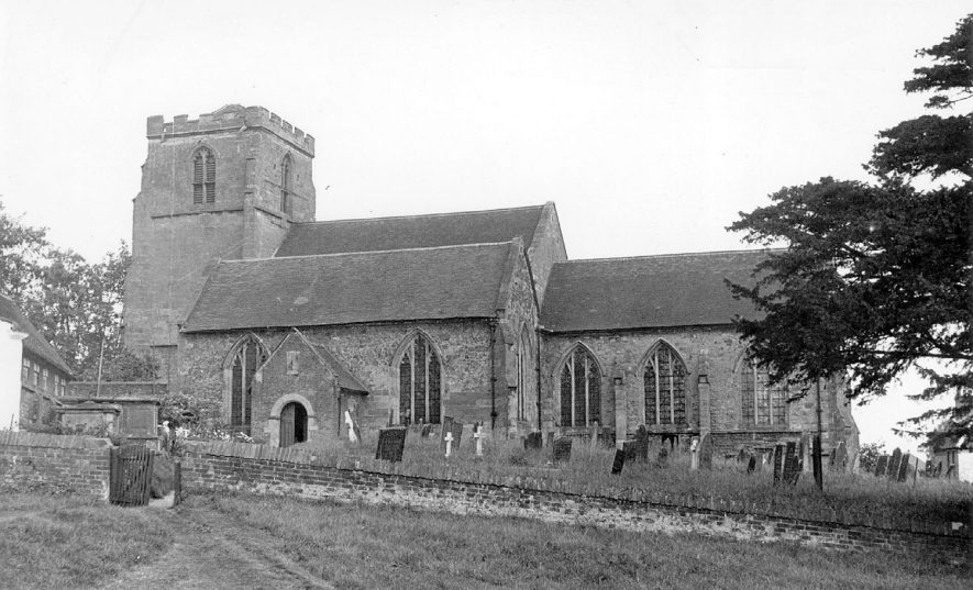Mancetter Church, Atherstone.  1950s |  IMAGE LOCATION: (Warwickshire County Record Office)