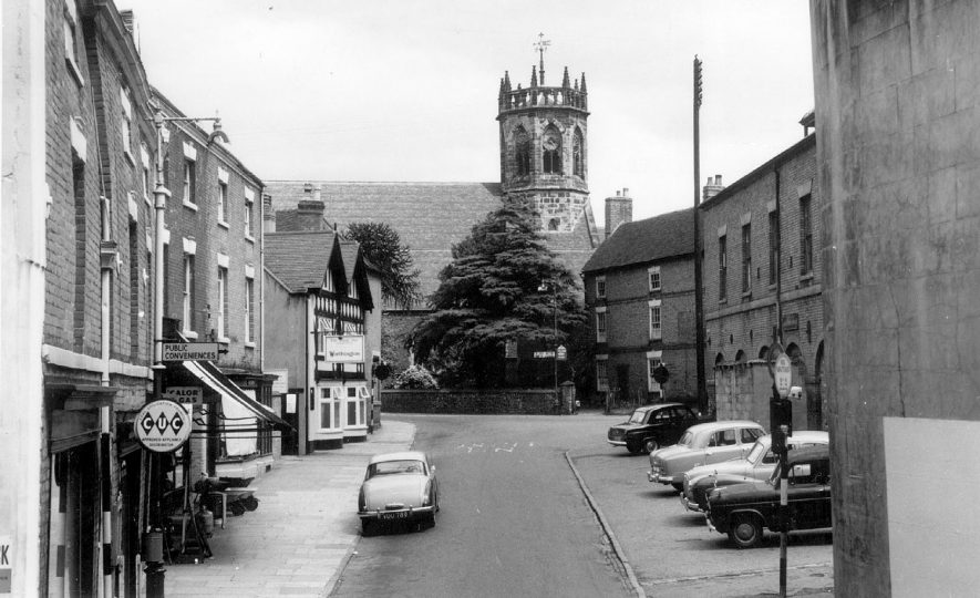 Church Street, Atherstone.  1960s |  IMAGE LOCATION: (Warwickshire County Record Office)