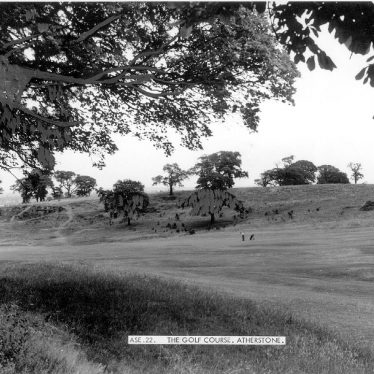 Atherstone.  Golf course