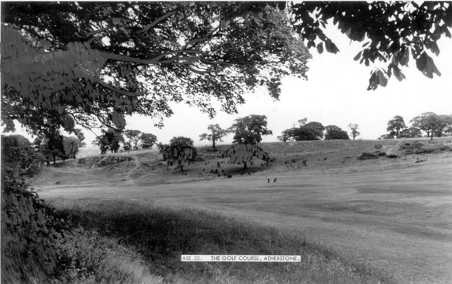 Atherstone golf course.  1960s |  IMAGE LOCATION: (Warwickshire County Record Office)
