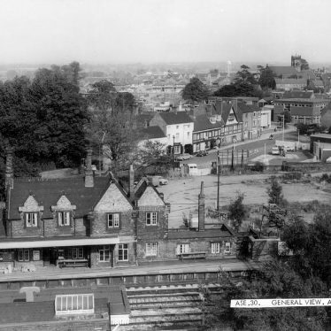 Atherstone.  General view