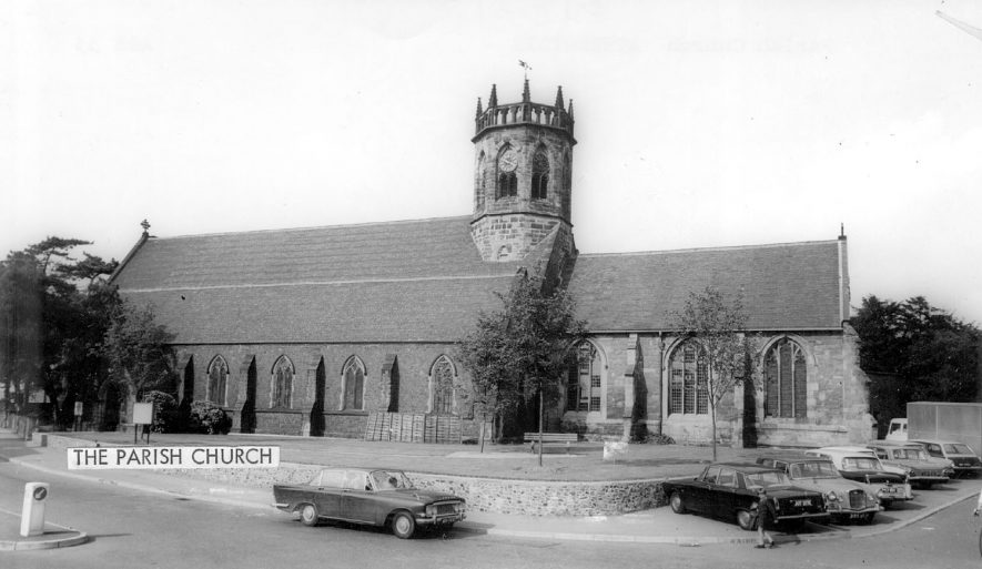 Parish Church, Atherstone.  1960s |  IMAGE LOCATION: (Warwickshire County Record Office)