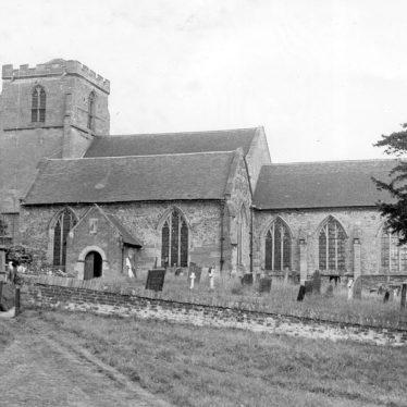 Mancetter.  Church