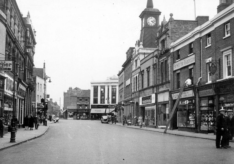 Market Place, Nuneaton.  1950s