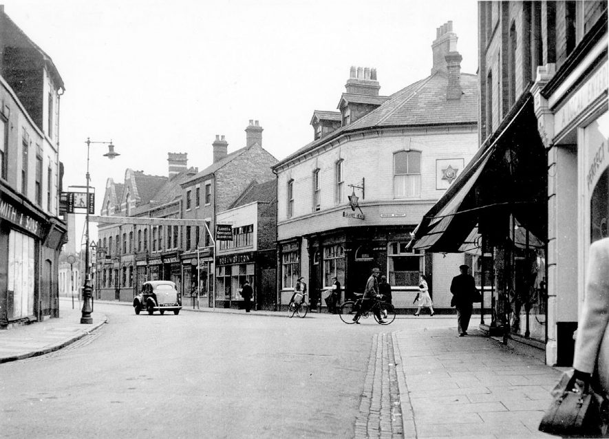 Church Street, Nuneaton.  1950s |  IMAGE LOCATION: (Warwickshire County Record Office)