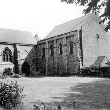 Nuneaton.  St Mary's Abbey church