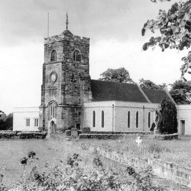Chilvers Coton.  Parish Church