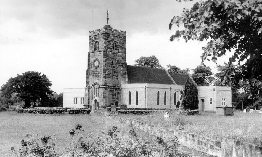 Chilvers Coton parish church.  1960s |  IMAGE LOCATION: (Warwickshire County Record Office)