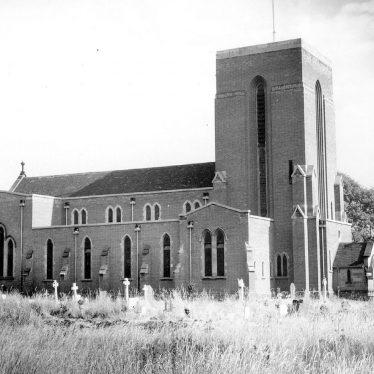 Nuneaton.  Catholic church