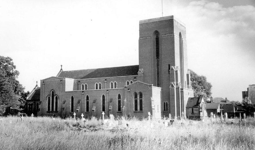 Coton Road Catholic Church, Nuneaton.  1960s |  IMAGE LOCATION: (Warwickshire County Record Office)