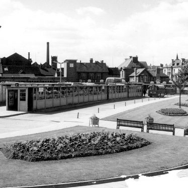 Nuneaton.  Church Street, Bus Station