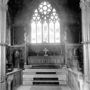 Nuneaton.  St Mary's Abbey church interior