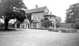 Griff House,  childhood residence of George Eliot.  1960s |  IMAGE LOCATION: (Warwickshire County Record Office)