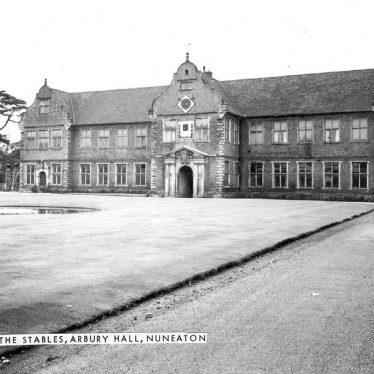 Arbury.  Arbury Hall stables